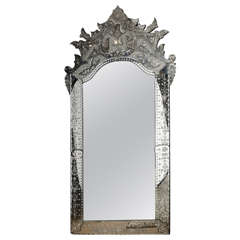 Superb Large Venetian Mirror