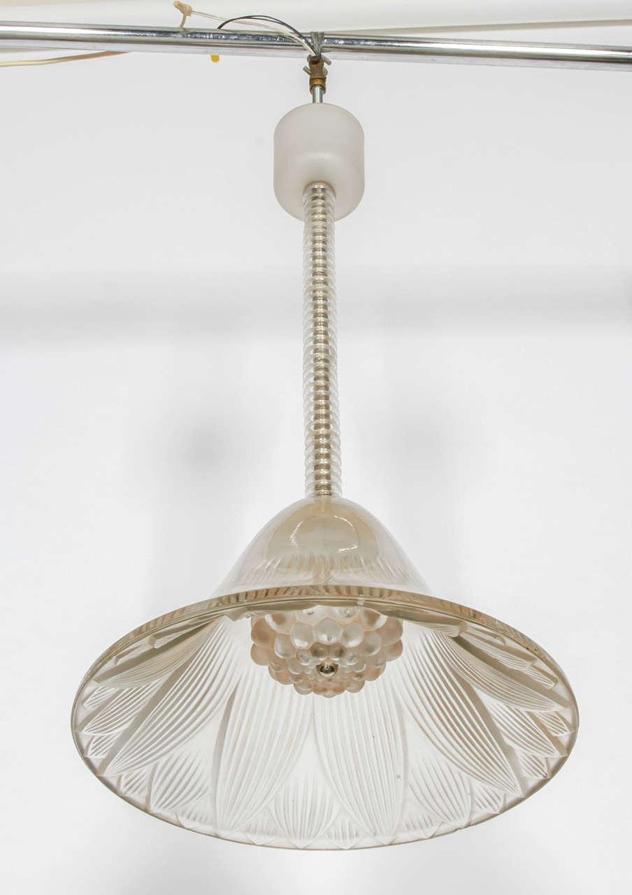 Rene Lalique Chandelier