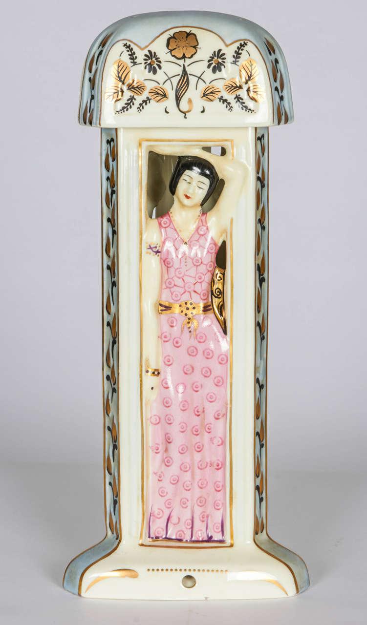 french art deco table lamp  perfume burner at 1stdibs