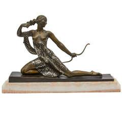 """Diana the Huntress"" Figure by Joseph Descomps"