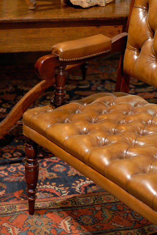 Pair of Leather Upholstered Benches 6