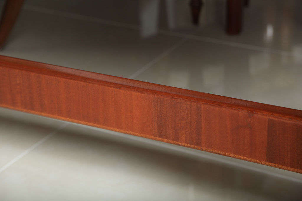 Italian Modern Mahogany Desk/Writing Table, Gio Ponti For Sale 2
