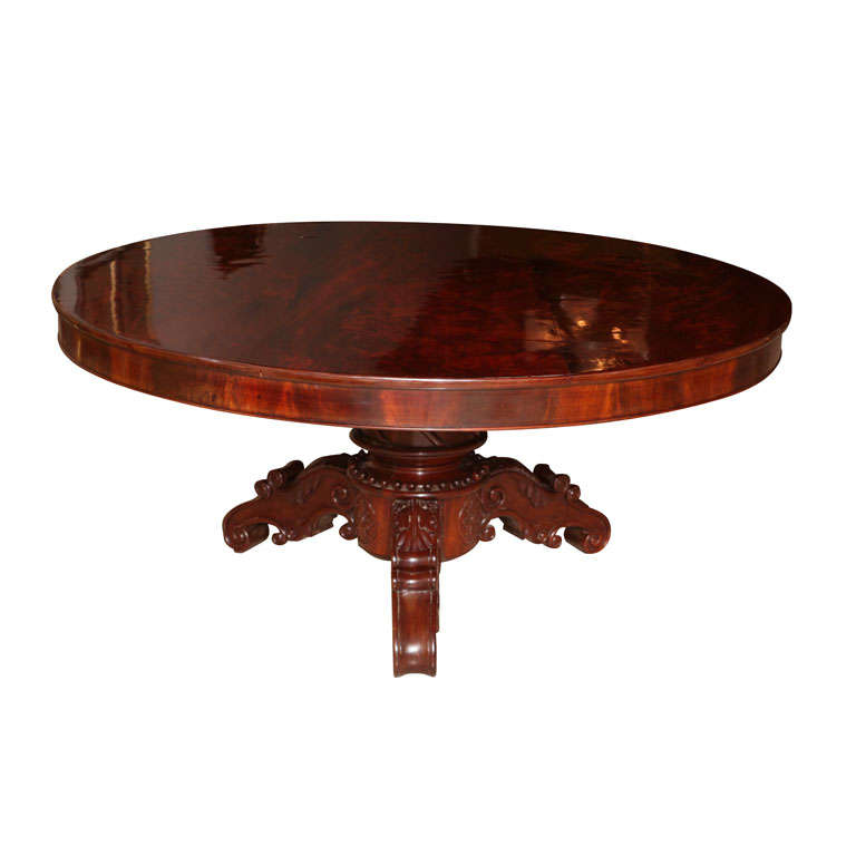 William IV Mahogany Center/Dining Table