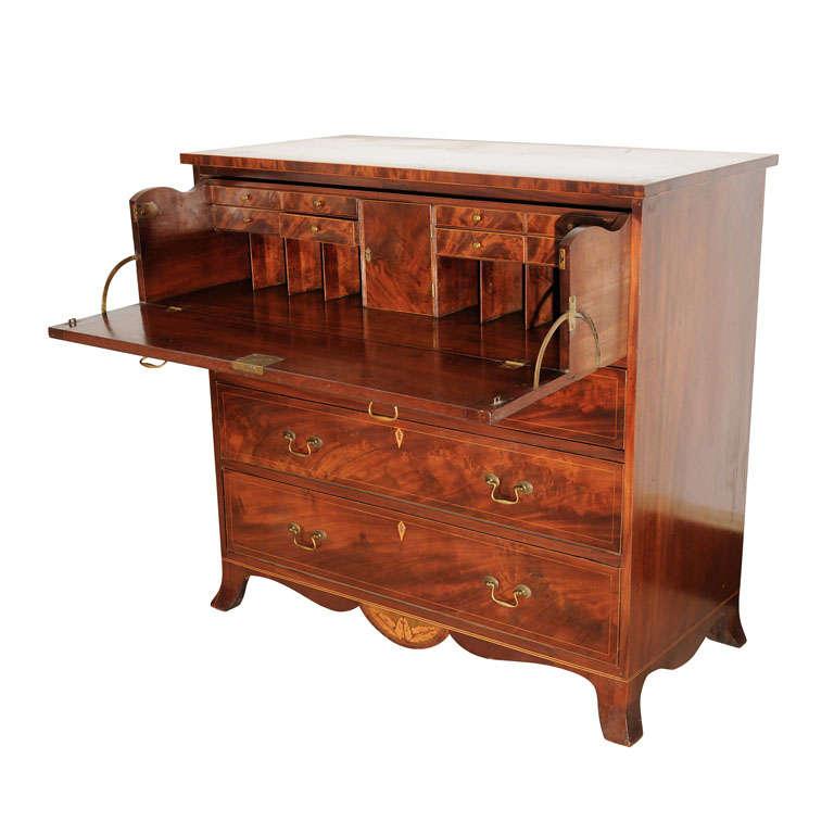 Hepplewhite Butleru0027s Desk 1