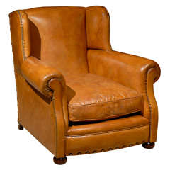 Lanham Leather Club Chair