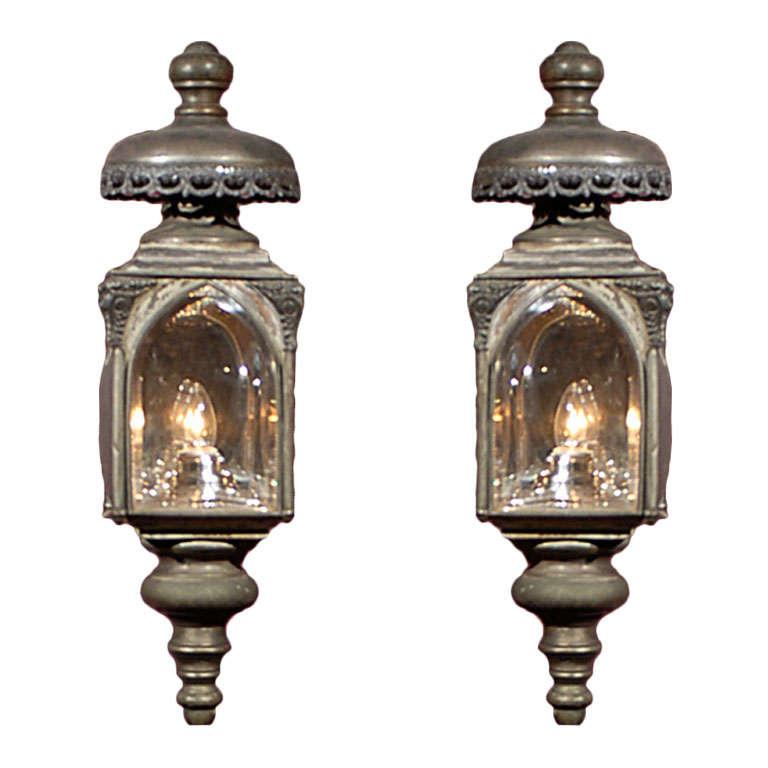 Pair carriage lanterns