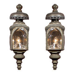 Pair carriage lanterns