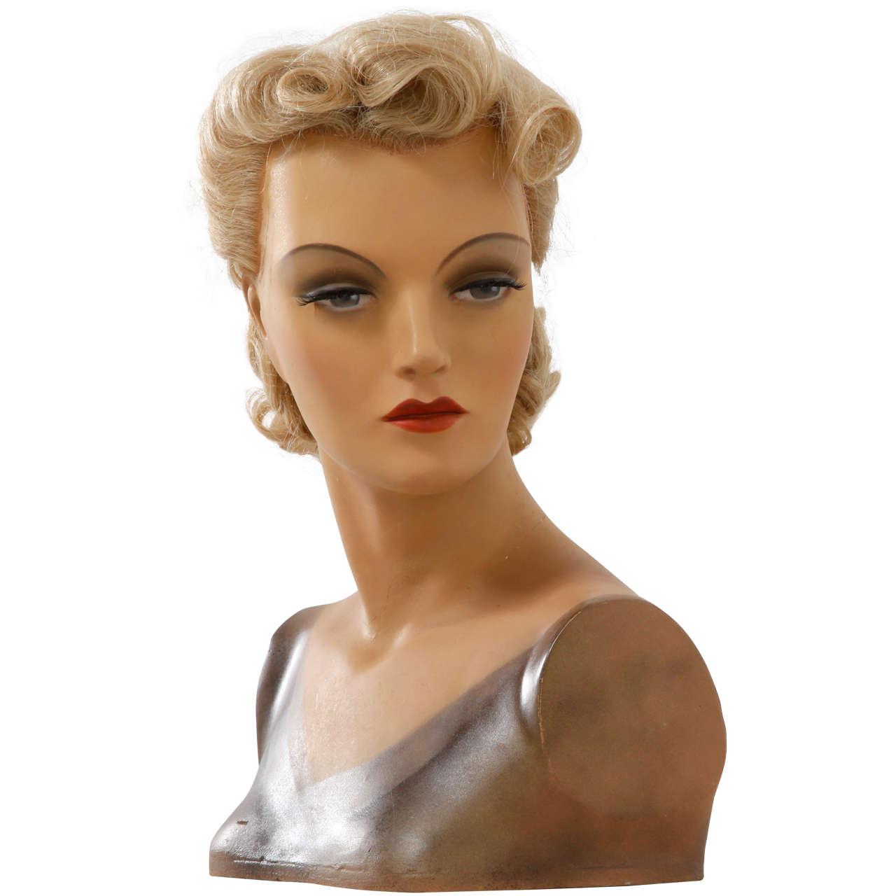 Art deco bust 1930 imans paris at 1stdibs - Paris 2000 hair salon ...
