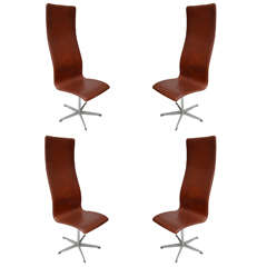 Arne Jacobsen Oxford Chairs