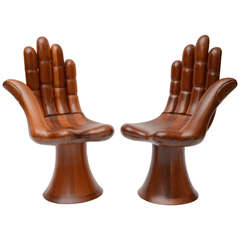 Pedro Friedeberg Right & Left Hand Chairs