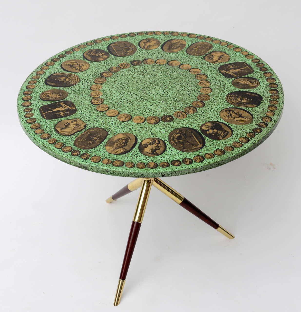 Captivating Piero Fornasetti Cammei Side Table 2