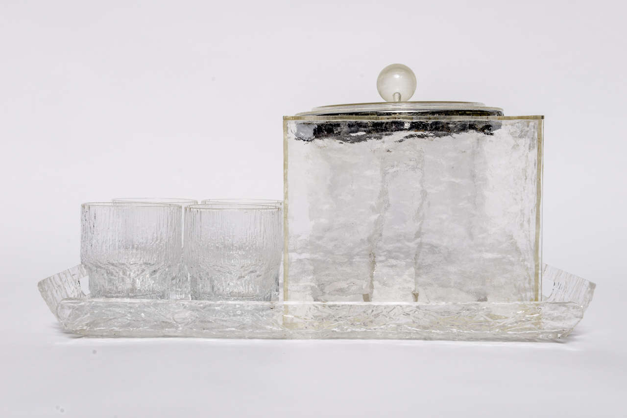 Lucite Patio Set For Those Hot Summer Days At 1stdibs