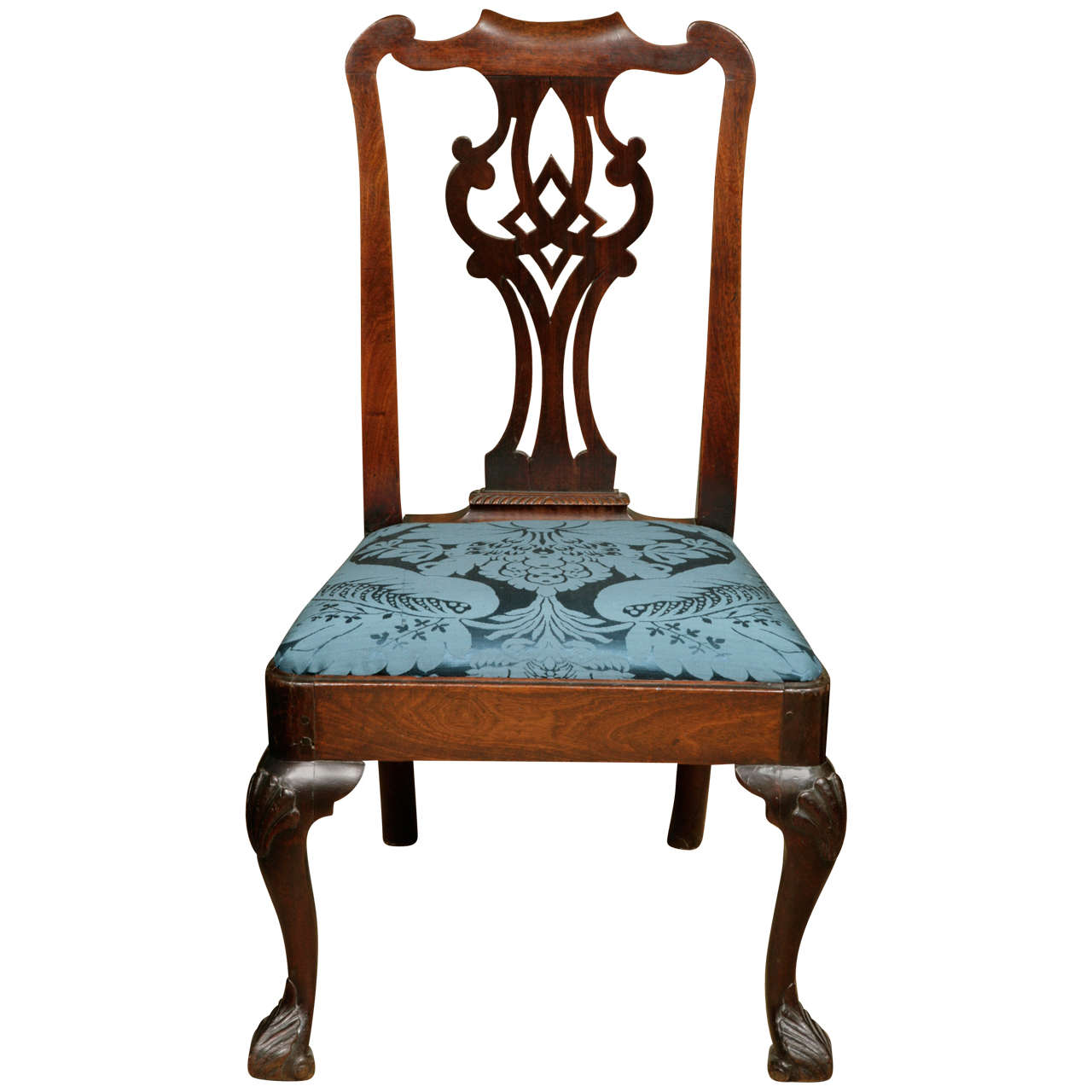 Irish Mahogany Side Chair circa 1740