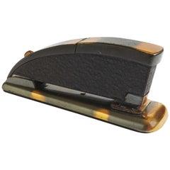 Rare Zephyr Hotchkiss Stapler by Robert Heller with Original Box and Insert