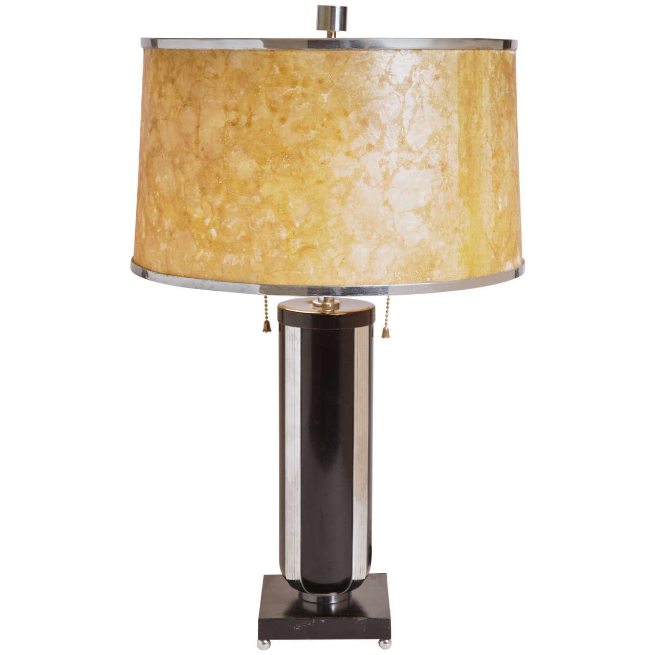 Original Gilbert Rohde Table Lamp For Mutual Sunset
