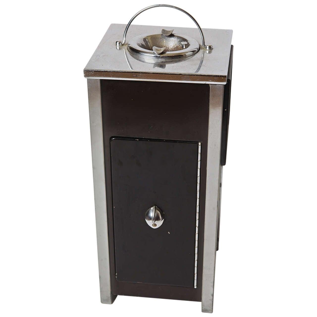 Machine Age Art Deco Smokestand Cocktail cabinet