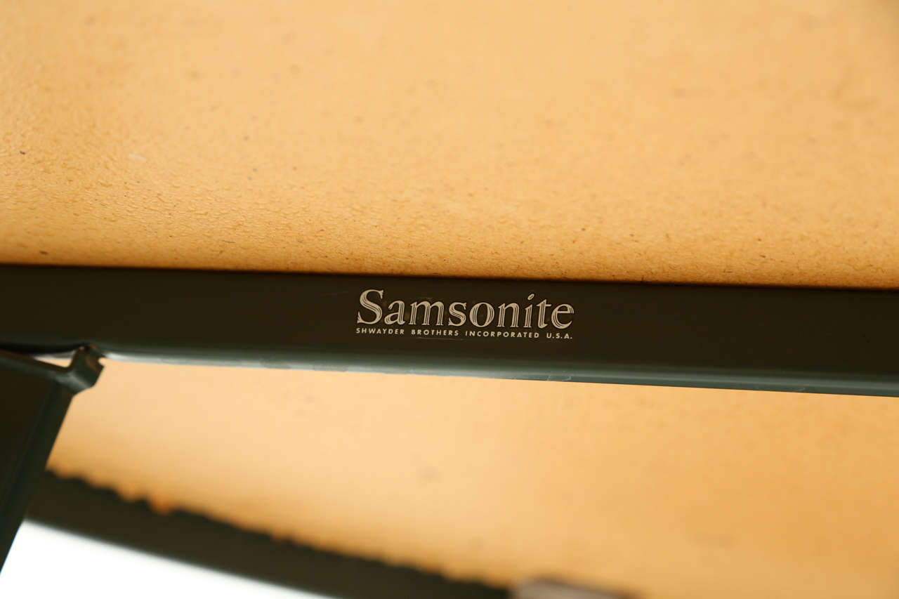 Samsonite Quot Sunrest Quot Outdoor Dining Set At 1stdibs