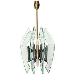Chandelier Made by Fontana Arte