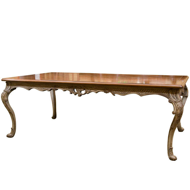 Wrightman Dining Table Reproduction At 1stdibs