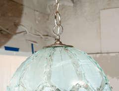 Italian Globe Chandelier Fontana Arte image 8