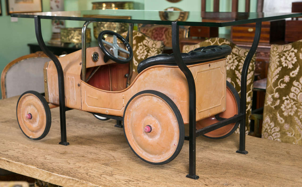 Pedal Car Coffee Table At 1stdibs