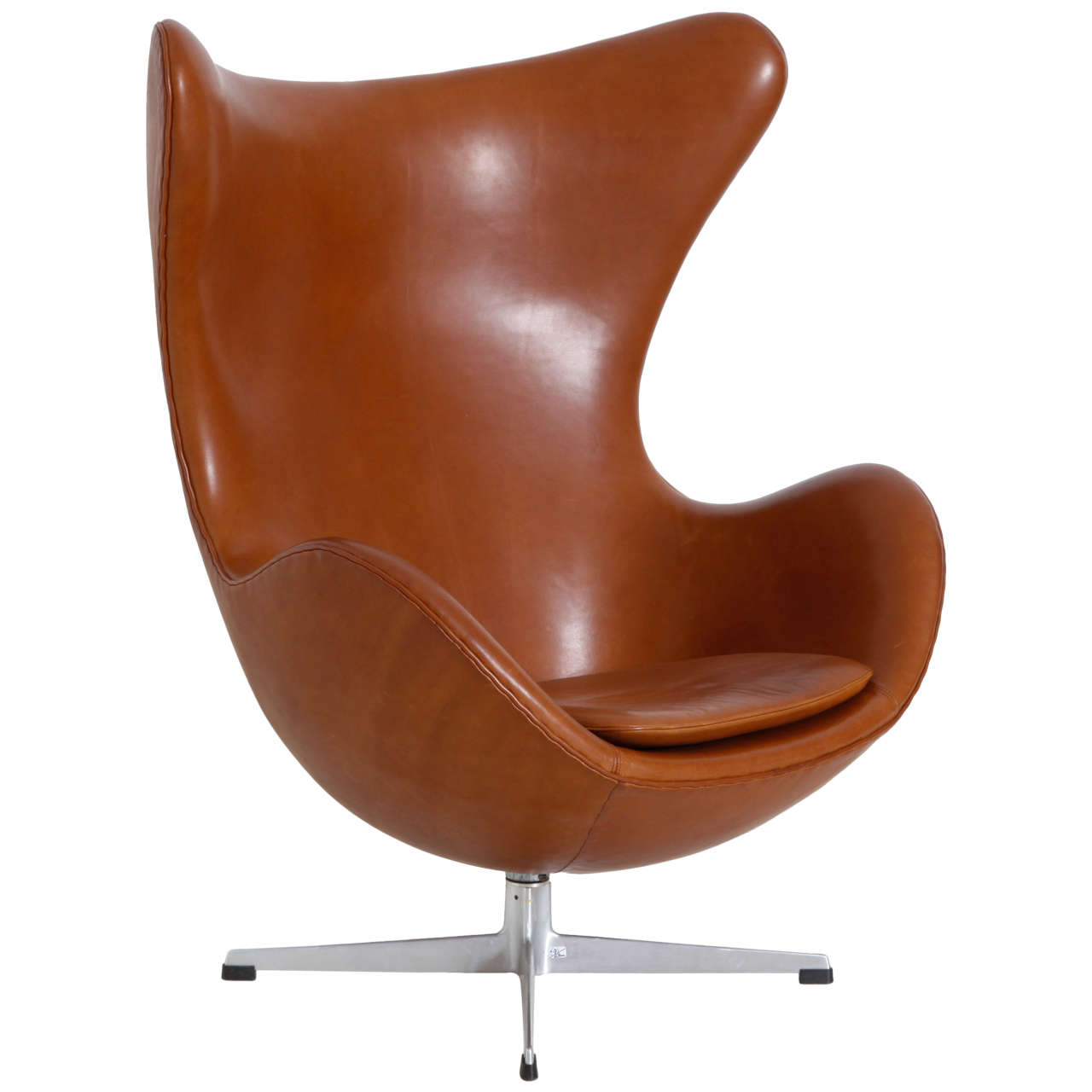 egg chair arne jacobsen at 1stdibs. Black Bedroom Furniture Sets. Home Design Ideas