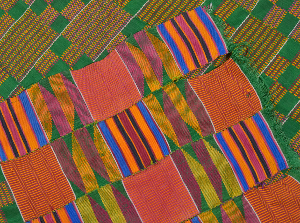 African Ashanti Kente Cloth For Sale At 1stdibs