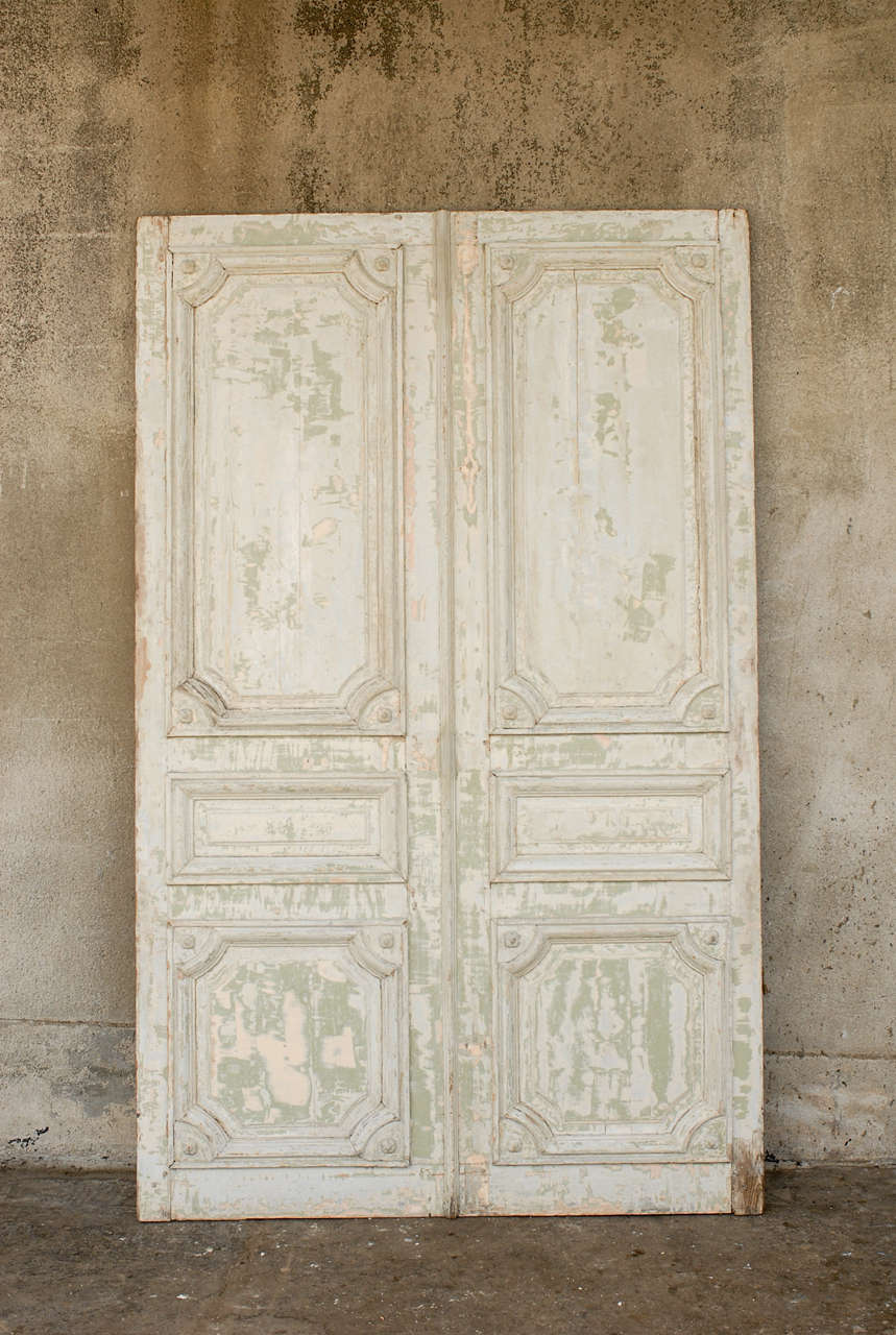 A french double door panel at 1stdibs for 10 panel french door