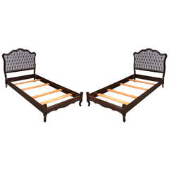 Pair of 1930's Twin Beds