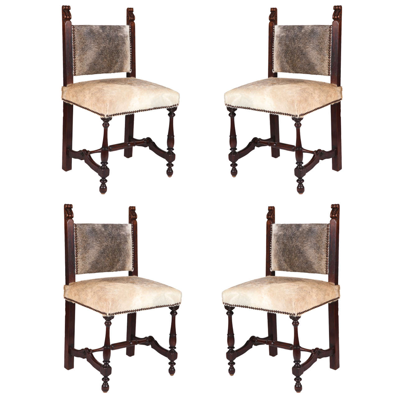 set of four spanish chairs for sale at 1stdibs