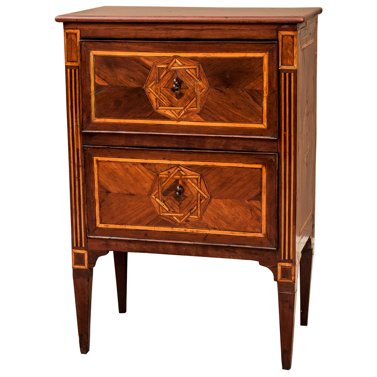 two drawer petite commode at 1stdibs. Black Bedroom Furniture Sets. Home Design Ideas