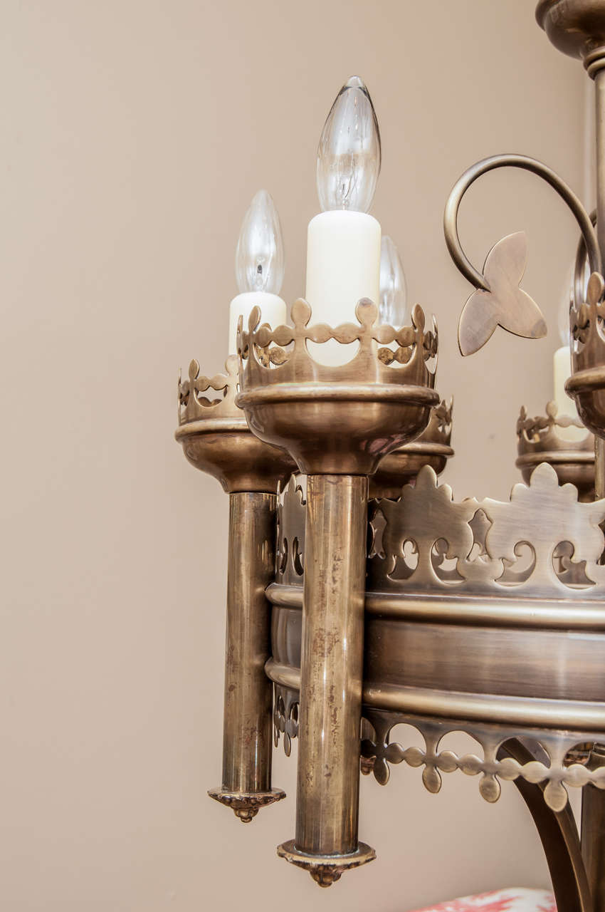 pair of gothic style chandeliers for sale at 1stdibs
