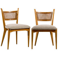 Stellar Set of 4 Cane Back Chairs by Edmond Spence