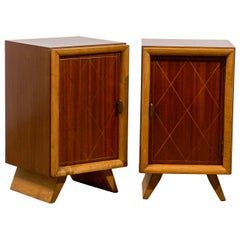 Beautiful Pair Cabinets in the Style of Paul Frankl