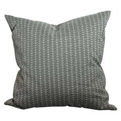 Viscoise Silk Modern Tweed Pillow