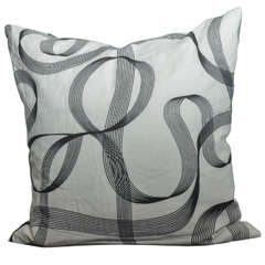 Modern Ribbon Patterned Pillow