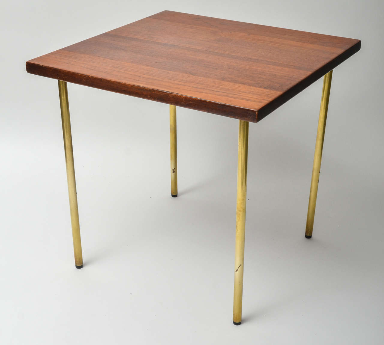 France and son teak and brass side table danish circa 1960 at france son teak and brass side table danish circa 1960 2 geotapseo Image collections