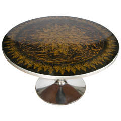 France & Sons centre table, signed  Mygge, Danish, circa 1965.