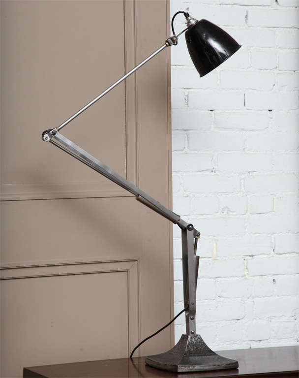 British English Industrial Task Lamp For Sale