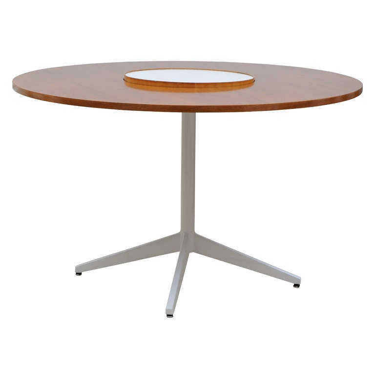 George Nelson Lazy Susan Dining Table For Herman Miller