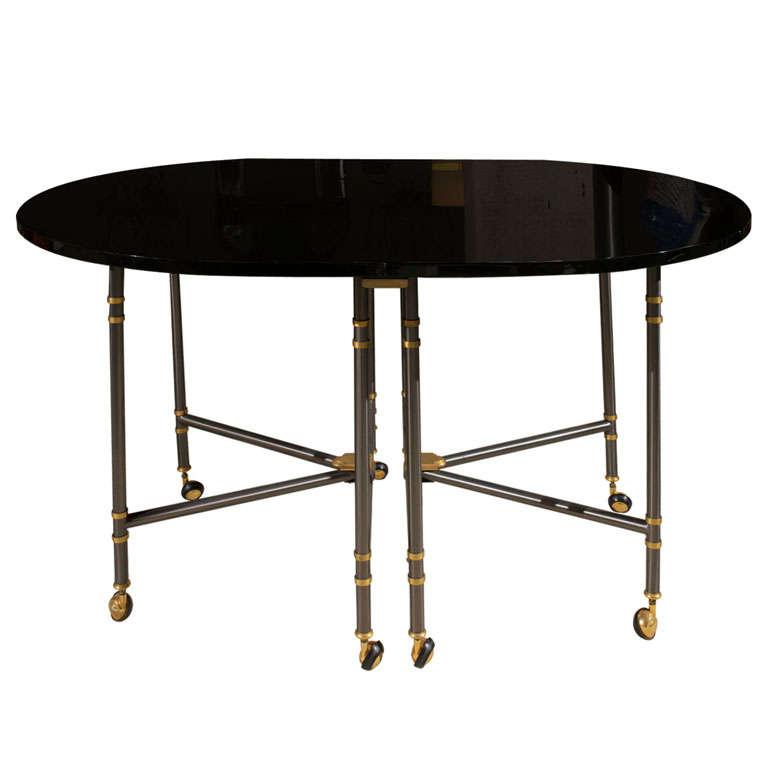 maison jansen table royale at 1stdibs. Black Bedroom Furniture Sets. Home Design Ideas