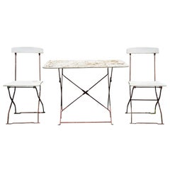 French Bistro Table and 2 Chairs