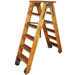 Putnam and Co. Library Ladder from 1930s