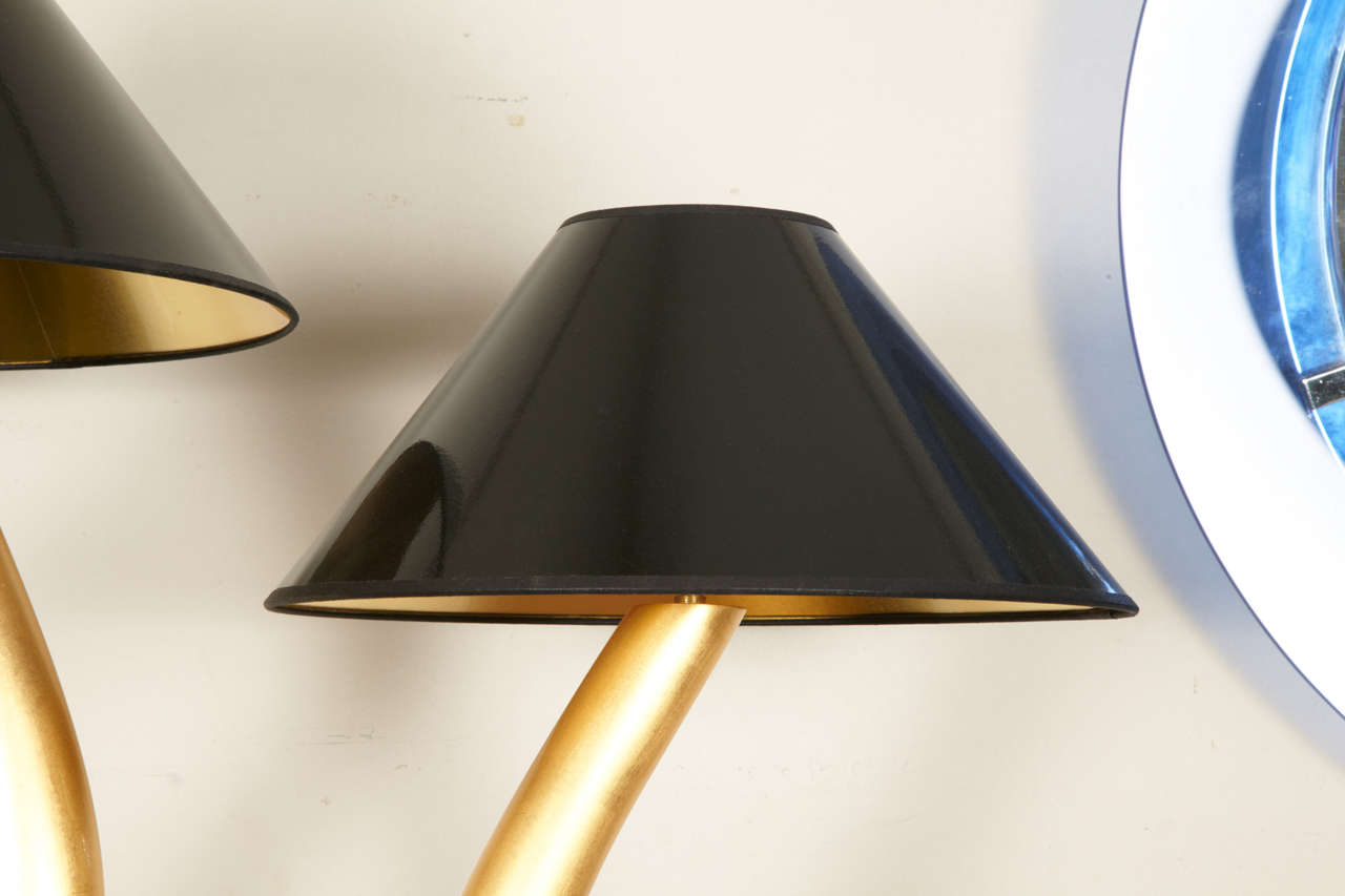 """""""Lyre"""" lamp by Philippe Cuny 4"""