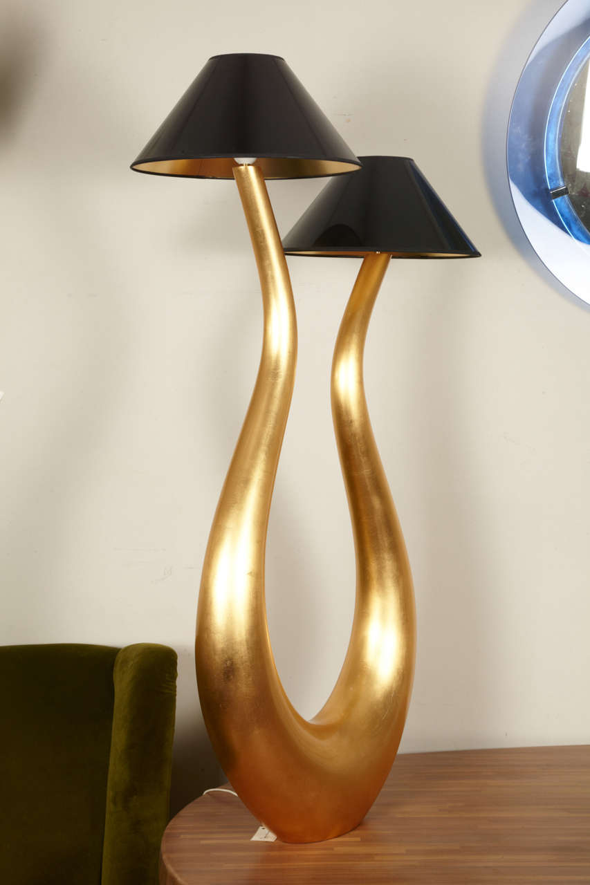 """""""Lyre"""" lamp by Philippe Cuny 6"""