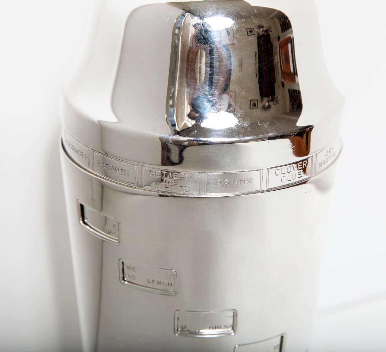 Silver Plate Art Deco Napier