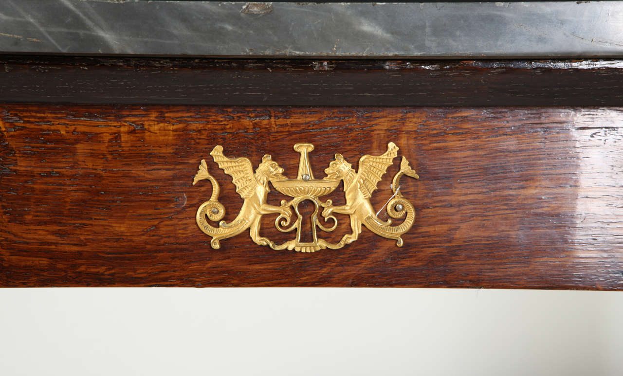 19th Century Pair of French Empire Consoles Tables For Sale