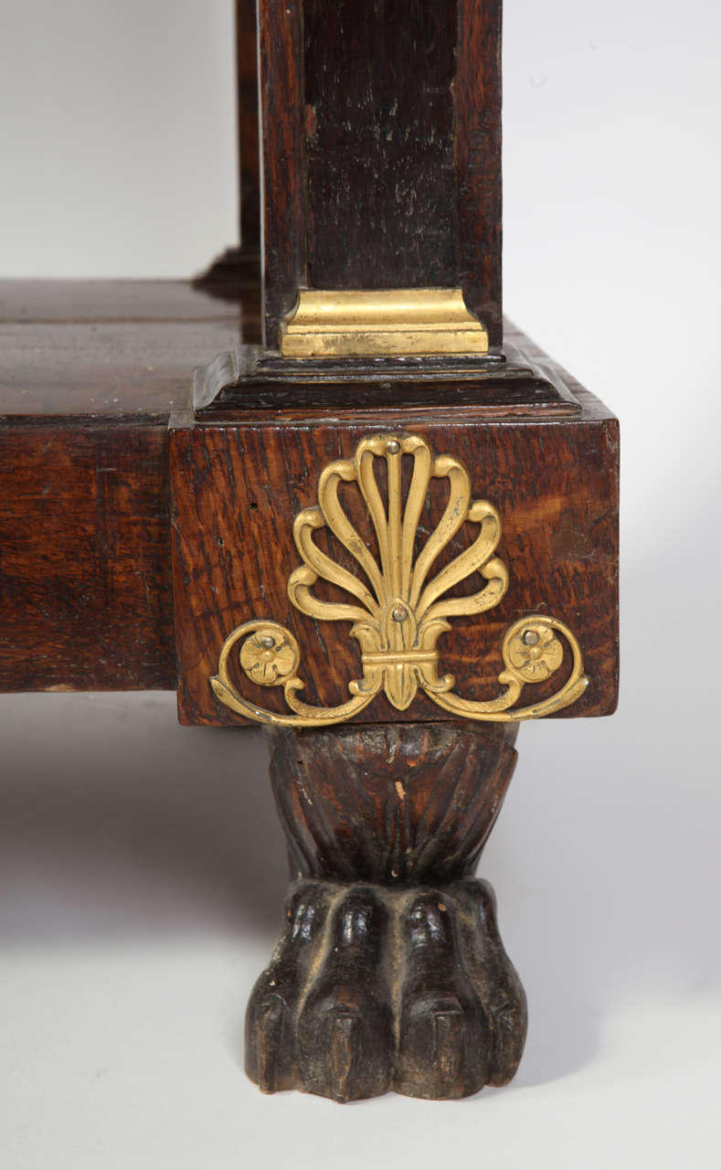 Pair of French Empire Consoles Tables For Sale 1