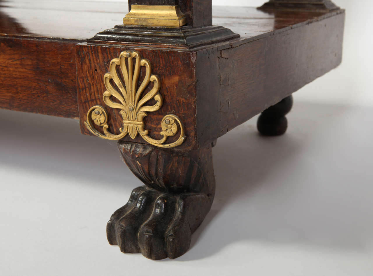 Pair of French Empire Consoles Tables For Sale 4