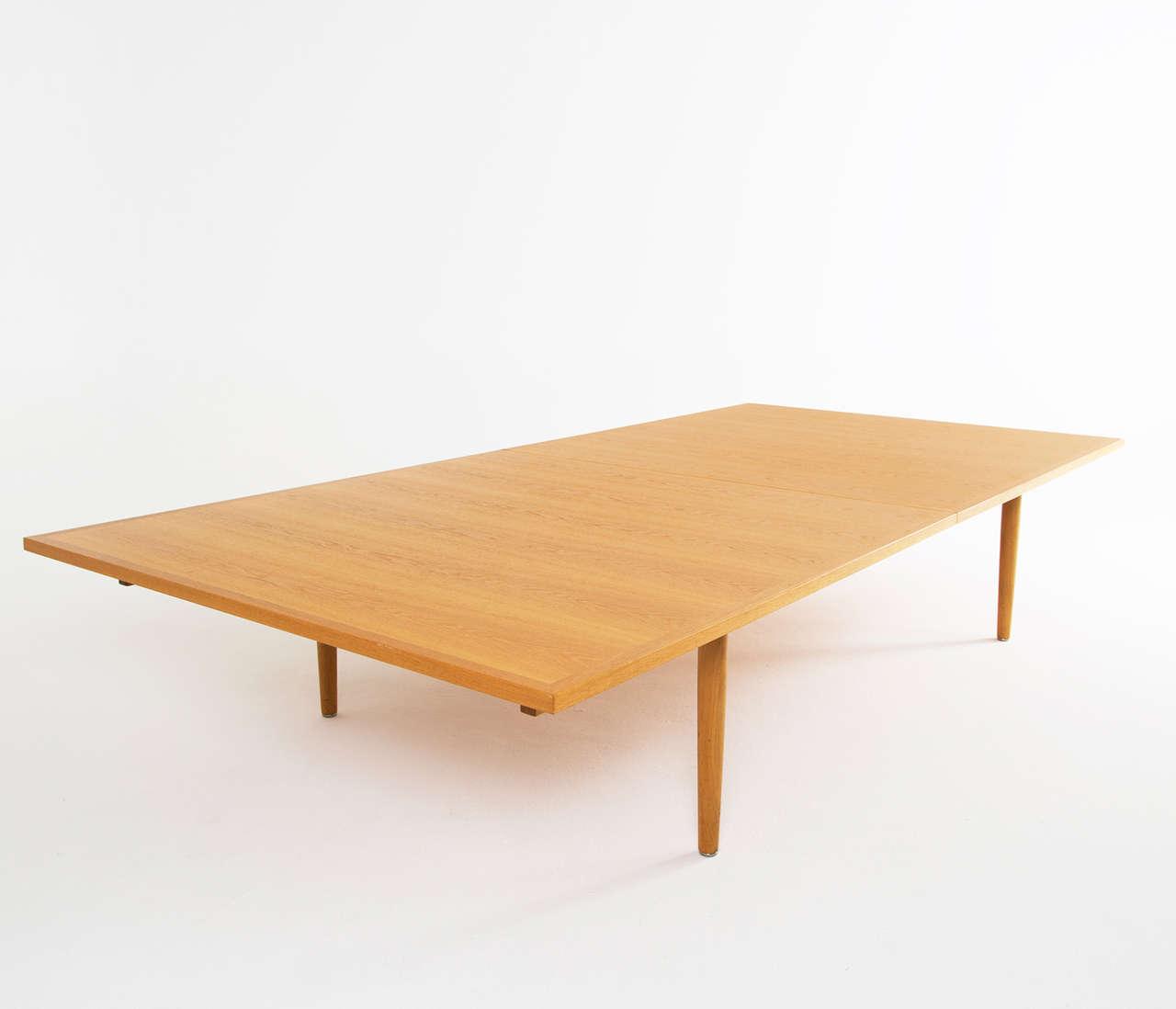 Hans Wegner Extremely Large Table Oak for Johannes Hansen  : 1742item1735 1 from www.1stdibs.com size 1280 x 1098 jpeg 33kB